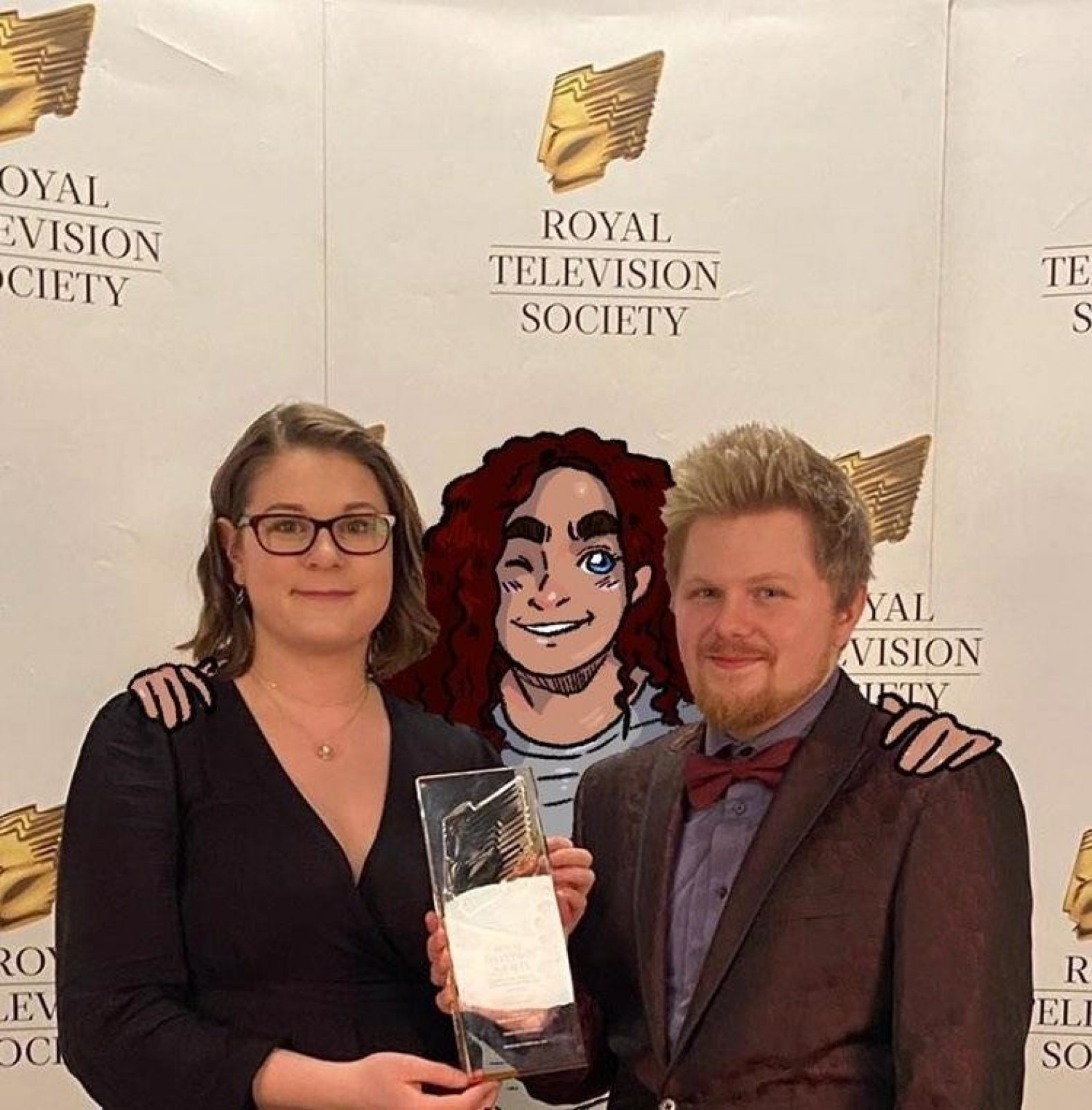 Royal Tv Awards Cara With Fillipa Photoshopped In